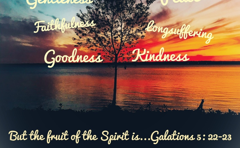 The Fruit Of The Spirit Is…